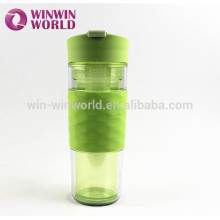Ultra Clear Unbreakable Eco Thermal Pyrex Fruit Infuse Plastic Water Bottle fruit infuser