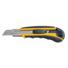 18mm et 9mm Rubber Handle Plastic Snap Off Knife