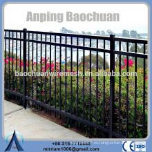 Baochuan fabuloso respetuoso del medio ambiente y almacenado cerca de acero / hierro forjado / cerca de aluminio