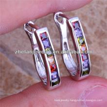 New arrival bulk clip-on earrings jewelry studs wedding dress crystal stones