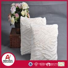 Полоса матовый поддельные меховой валик, сплошной фейк валик меха с наполнением, модные подушки фабрики