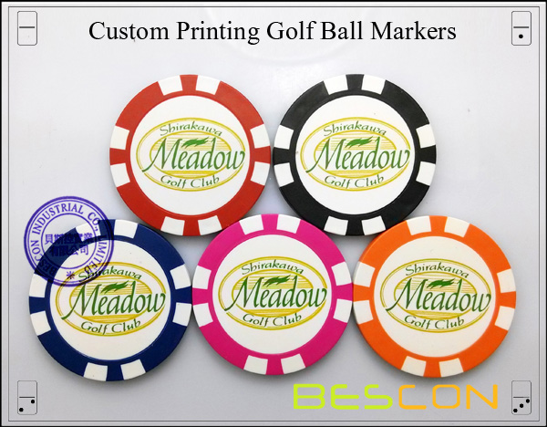 Custom Printing Golf Ball Markers-5