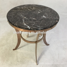 Optional color home use side table hotel stainless steel end table