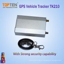 Rastreador de vehículos inalámbricos GSM / GPRS / GPS antirrobo Tk210 Gestión de la flota y seguridad (WL)