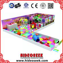 Candy Theme Happy Kinder Soft Indoor Play Center mit Babybereich