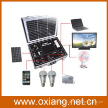 500w protable Off-Grid-Solar-Home-Beleuchtungssystem mit reinem Sinus-Wechselrichter und hochwertigen Mini-Solar-Controller