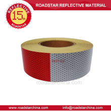 High brightness reflective tape for trucks
