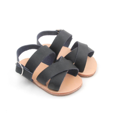 2018 Infant Baby Soft Sole Leather Peuter sandalen