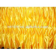 Fascinante!!! 2012 ropa de mesa/mesa elegante falda, estilo nido de abeja, diseño de moda