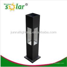 alta qualidade solar novidade as luzes do jardim, aço inoxidável luz solar do jardim, luz conduzida solar