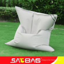 Popular outdoor bean bag furniture without armrest