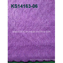 2014 Latest Fashion Wholesale Cord Lace Fabric