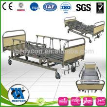 Luxuriöser Vierdrehgriff (ICU BED) Medizinische Krankenhausbetten