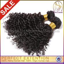 Natural Color Malaysian Sexy Wave Virgin Afro Kinky Curly Human Hair