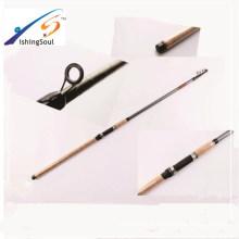 TSR068 Alta qualidade barato vara de pesca espaços em branco de fibra de vidro pólo telescópico