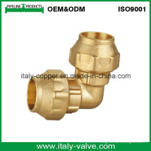 OEM & ODM Qualité Brass Forged PE Pipe Equal Elbow (IC-7008)