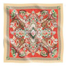 The turkish silk scarf BAOSHIDI factory in Hangzhou