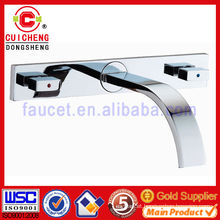 Brass basin mixer faucet for bathroom 5022 ISO9001:2008 Certificate,Gold lavatory faucet,Elegant!