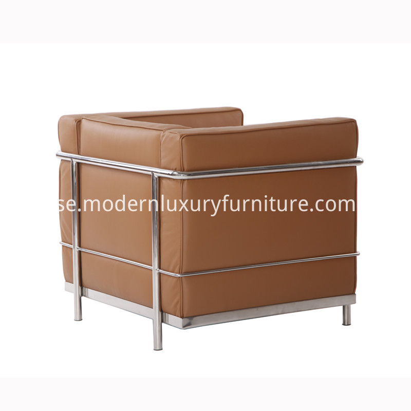 Le Corbusier LC2 Leather Sofa