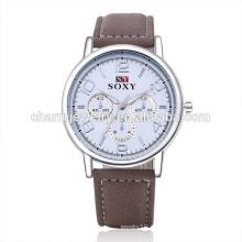 Большинство pPopular Luxury Vogue Quartz Популярные наручные часы из кожи SOXY043