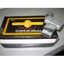 Environment shisha charcoal from 100% coconut shell /hookah charcoal