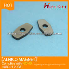 permanent alnico magnetic sheet with hole