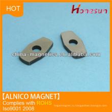 Постоянный алнико магнитных лист с отверстием