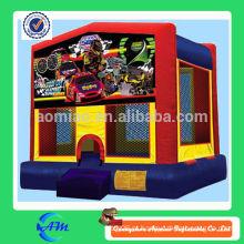 Carro de corrida inflável bouncy castelo