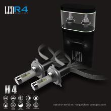 Los bulbos modificados para requisitos particulares de la lámpara de coche r4 de las bombillas led de alta potencia h4 llevaron luces
