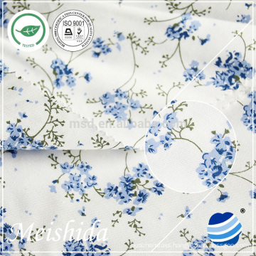 100% cotton cambric printed fabric cotton printed muslin fabric