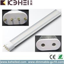 22W High Power 2G11 LED Tube Light 2090lm