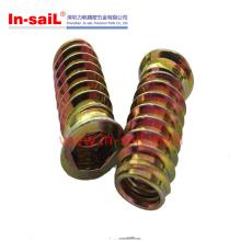China Supplier External Threaded Insert Thread Into Wood Manufacturer