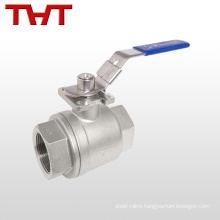1 inch 4 inch NPT thread ball valve with hole