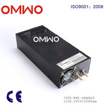 Wxe-1000scn-24 12V 24V 36V 48V 1000W Switching Power Supply