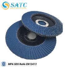 Disco abrasivo de superfície de articulação da aleta para lustrar
