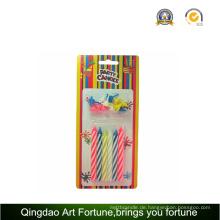 Spirale Geburtstagskerze für Kinder Party Dekor