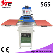 Best Quality Oil Hydraulic Double Station Heat Transfer Printing Machine for Farbic