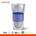 Рекламный жаростойкий кофе Лучший стеклянный кубок для воды оптом