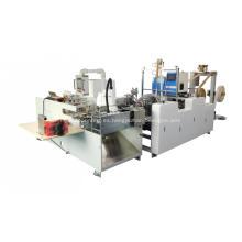 Máquina de fijación de manija retorcida de papel completamente automática