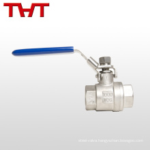 male female thread screw clamp direct ball valve
