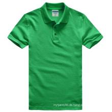 Schwergewicht Baumwolle mit Spandex Fashion Custom Herren Polo T-Shirt