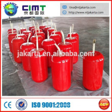 Foam rubber fender