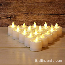 tremolante candele led movimento stoppino batteria led candela