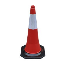 75cm Soft Flexible PE plastic traffic safety pylon