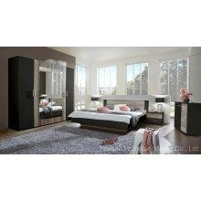 Ensemble de meubles de chambre en bois mixte coloré incroyable (HF-EY08271)