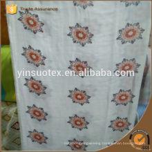 cheap price organic cotton beautiful design baby blanket
