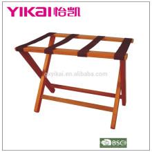 Porta-bagagens de madeira maciça de alta qualidade em tamanho grande