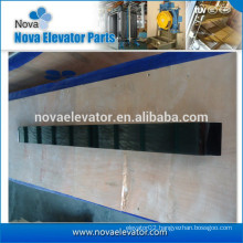 Elevator Black Titanium Handrail