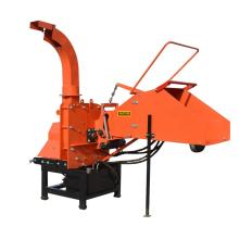 Tractor PTO mounted hydraulic feeding wood chipper