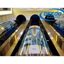 Alto edificio Hermoso ascensor panorámico Sightseeing Lift